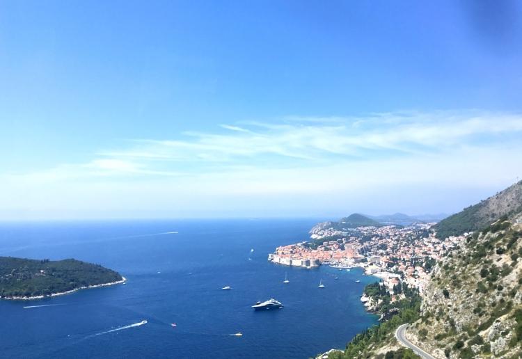 Adriatic Sea, Dubrovnik, Croatia