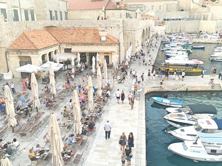 Dubrovnik Old Town port