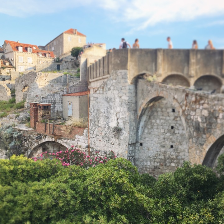 Dubrovnik Old Town walk the city walls