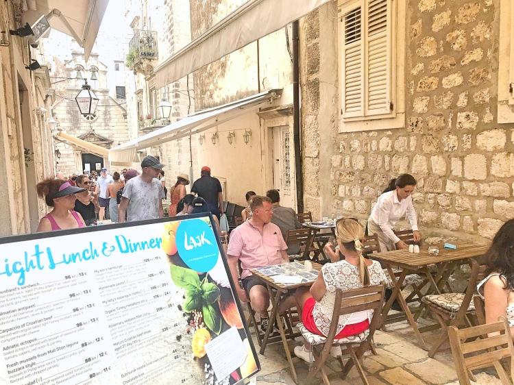 Brunch in Dubrovnik