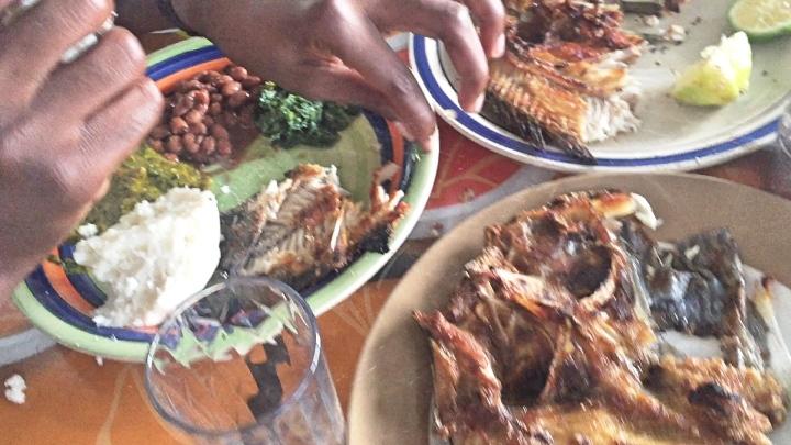 Local food Zambia