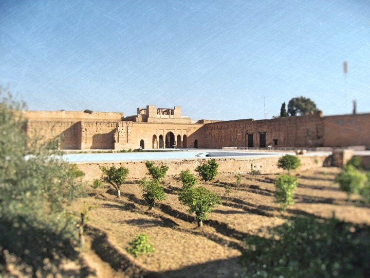 El Badi Palace Marrakesh Morocco