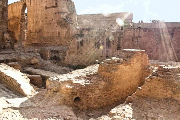 El Badi Palace Ruins, Marrakesh Morocco