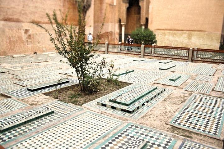 Saadian Tombs, Marrakesh Morocco