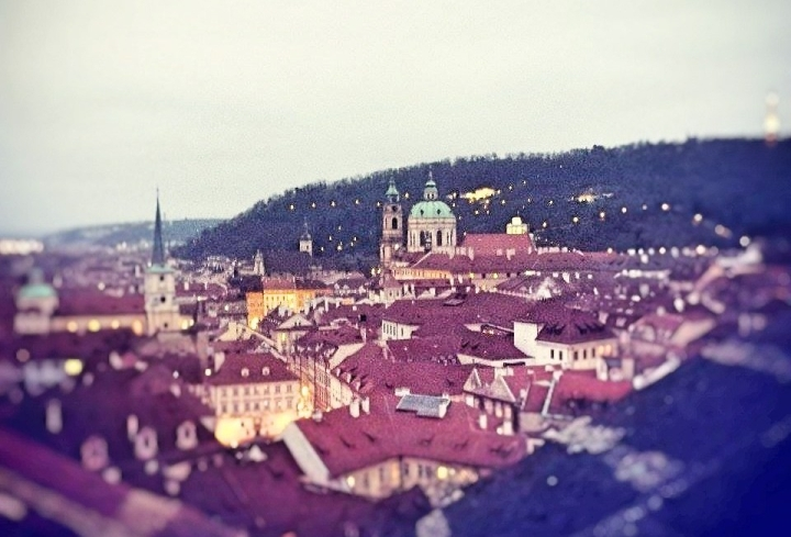 Prague rooftops citybreak