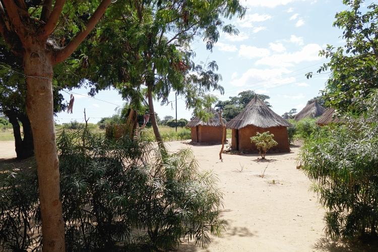 African mudhuts