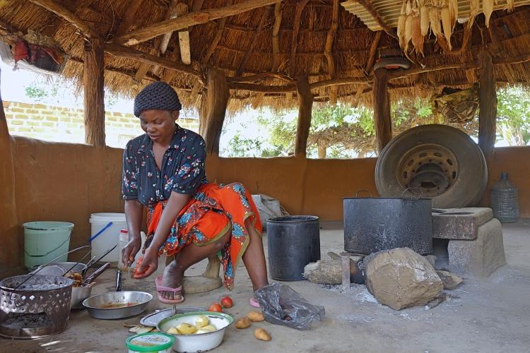 Host family life in Zambia