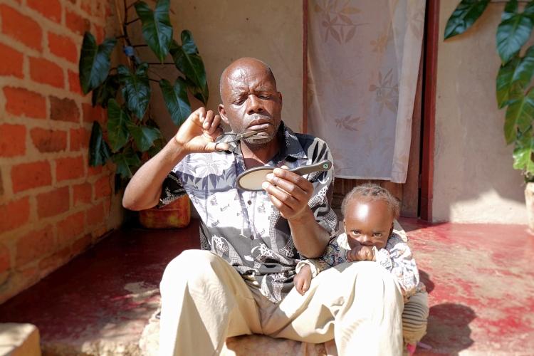 Host family in Africa