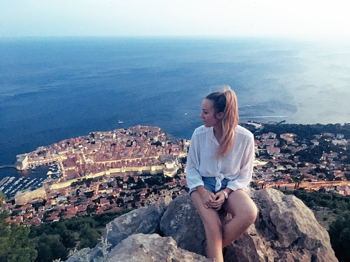 Best view in Dubrovnik best sunset in Dubrovnik