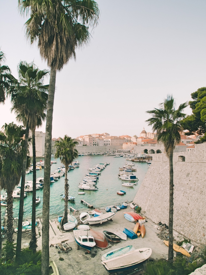 Old Port in Dubrovnik Croatia