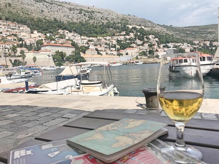 Dubrovnik marina Dubrovnik old port