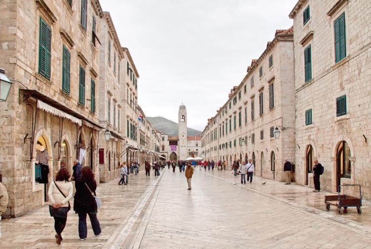 The Stradun Dubrovnik Old Town