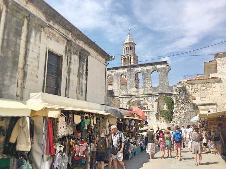 Split Old Town markets