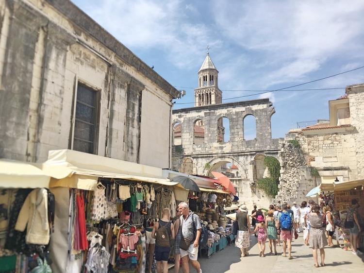 Split Old Town markets