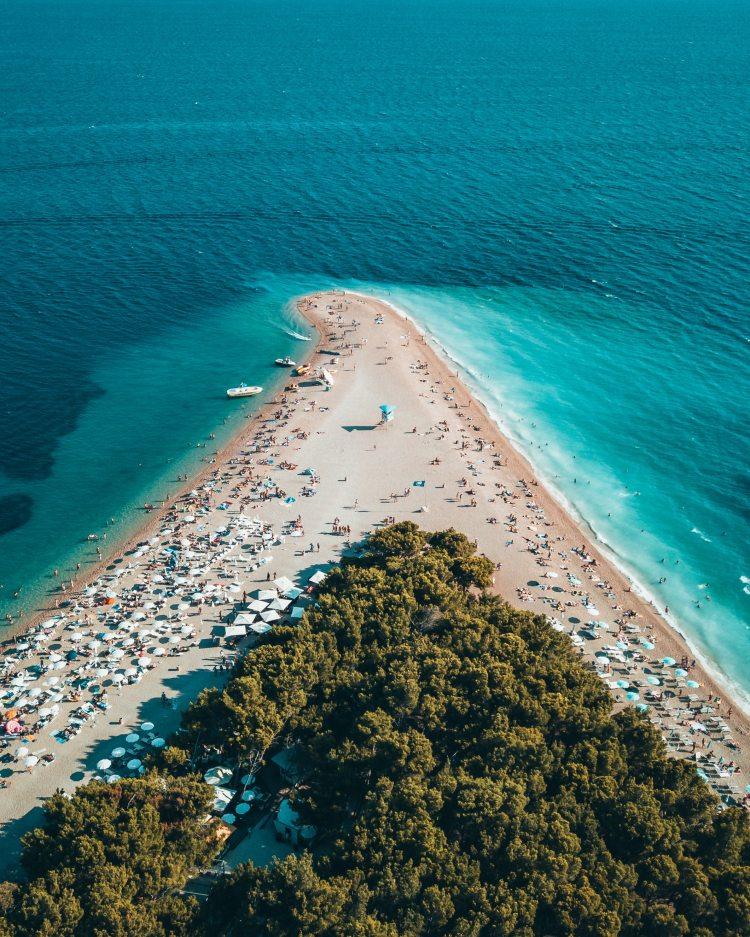 Spectacular beaches in Croatia