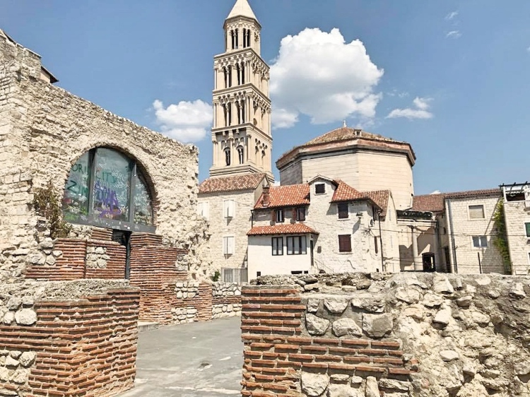 Split Ancient Roman Cathedral