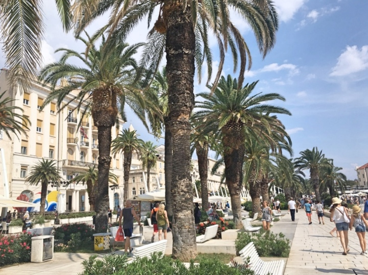 Split Riva and promenade