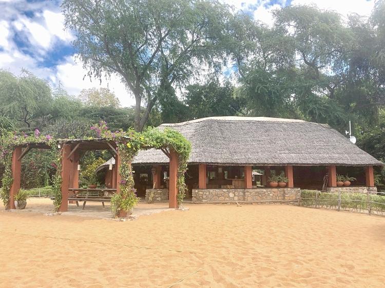 Beautiful campsites at Lake Malawi