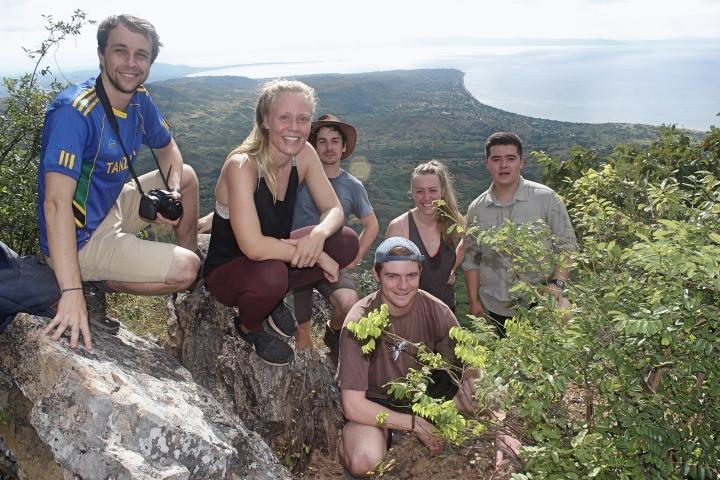 Mountain hikes at Lake Malawi
