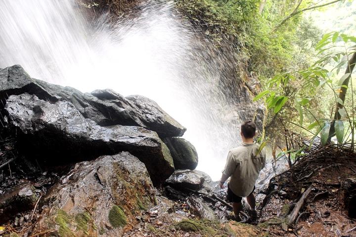 Waterfalls at the Nyika Plateau Lake Malawi