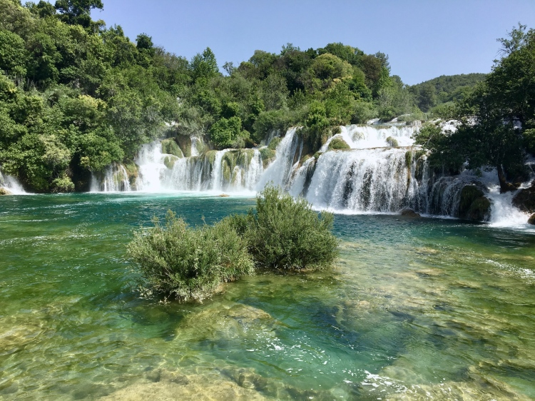Krka Falls National Park Croatia