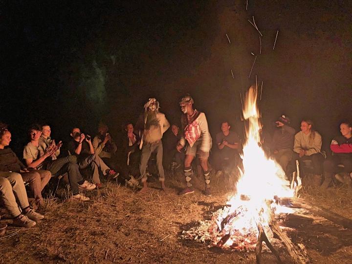 Camping at the Okavango Delta