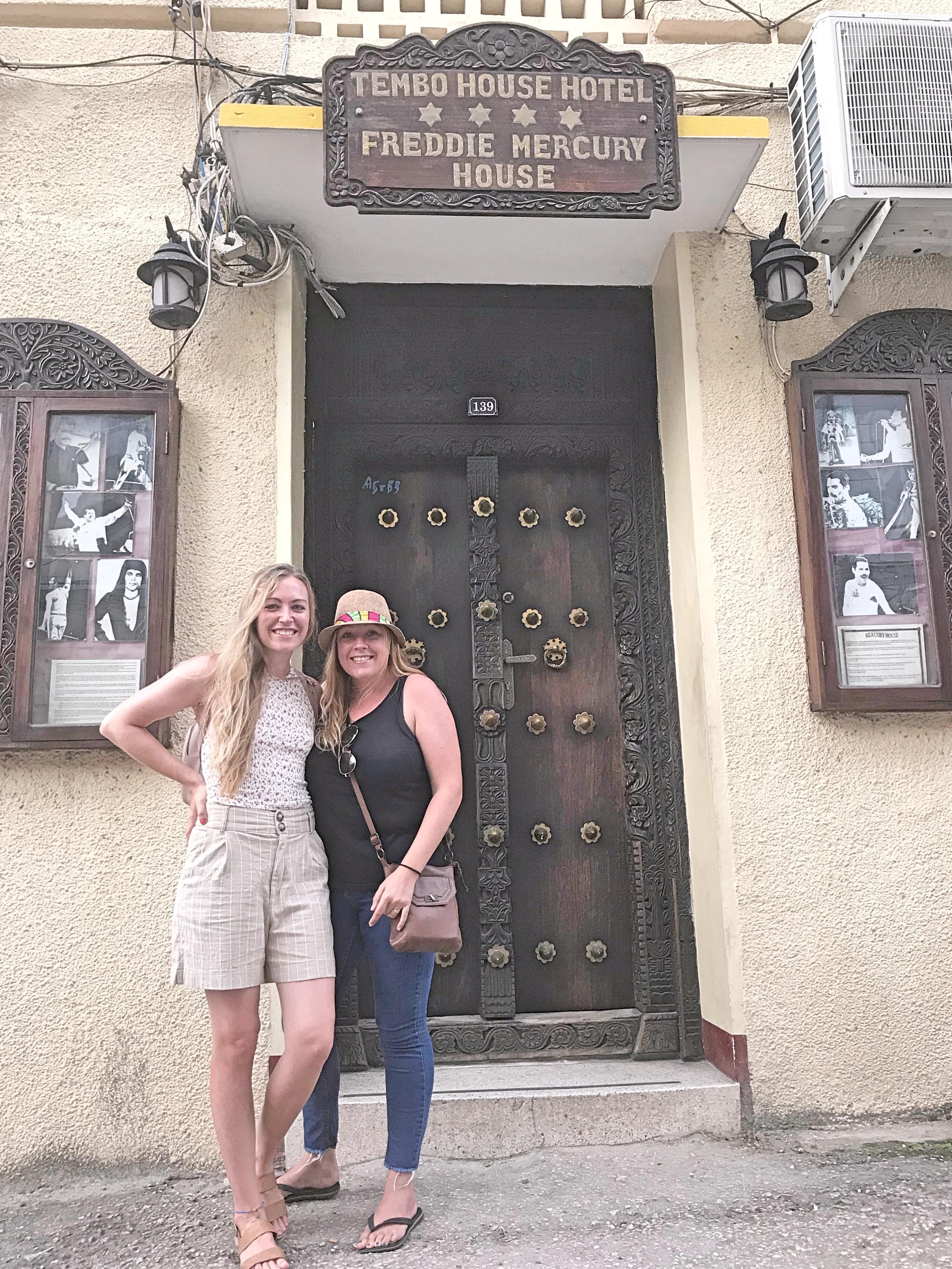 Freddie Mercury's House Stone Town Zanzibar