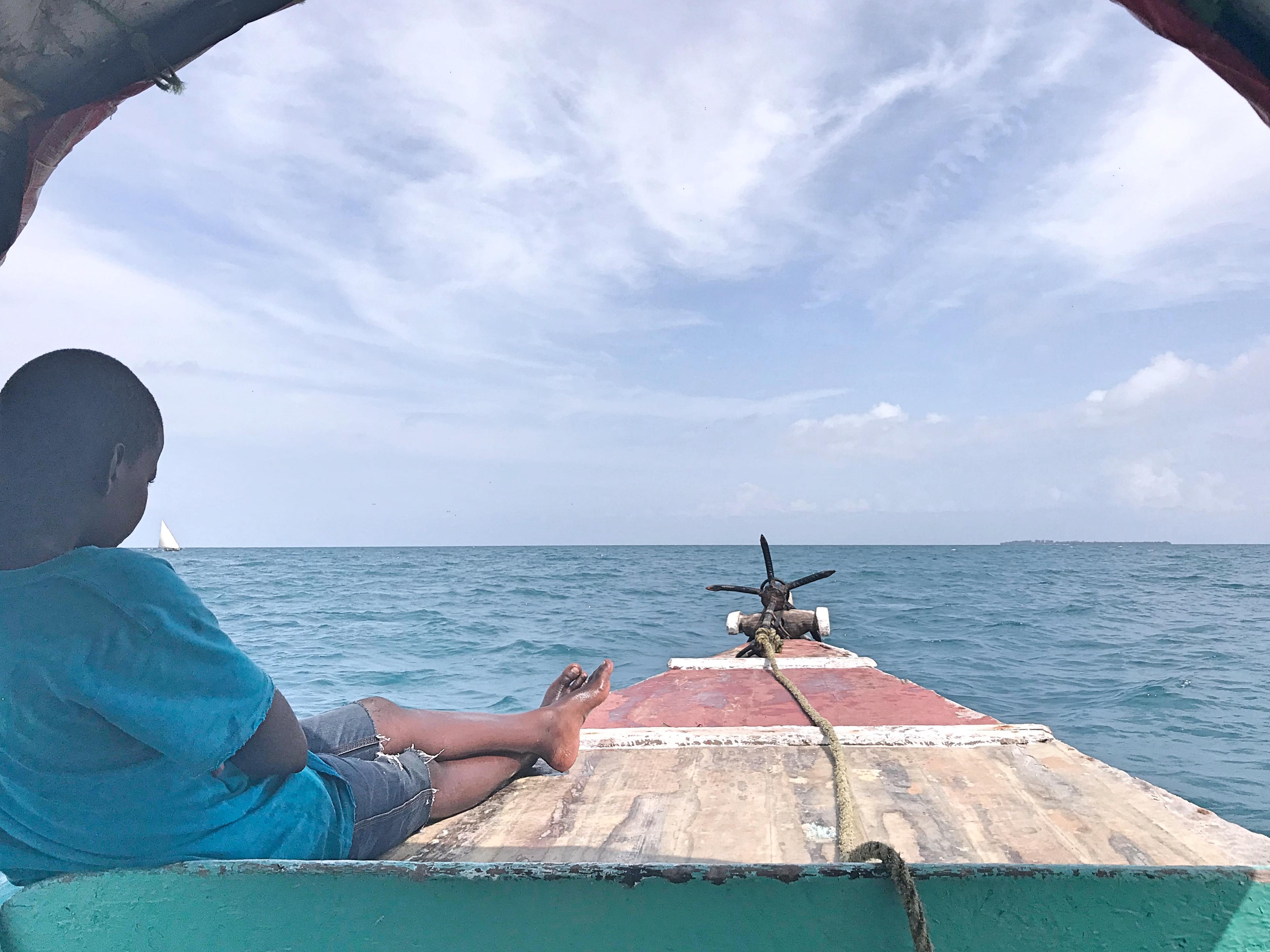 Boat trip to Prison Island Zanzibar