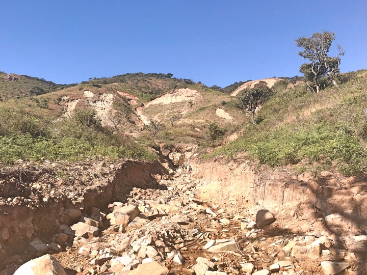 Chimanimani landslides caused by cyclone Idai