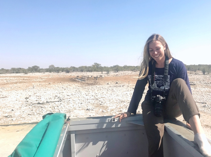 Namibian safari Etosha National Park