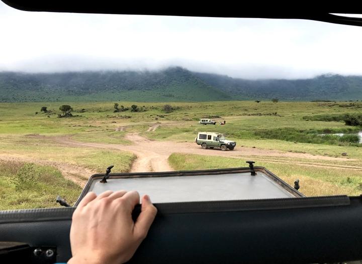 Game drive Ngorongoro Crater Tanzania