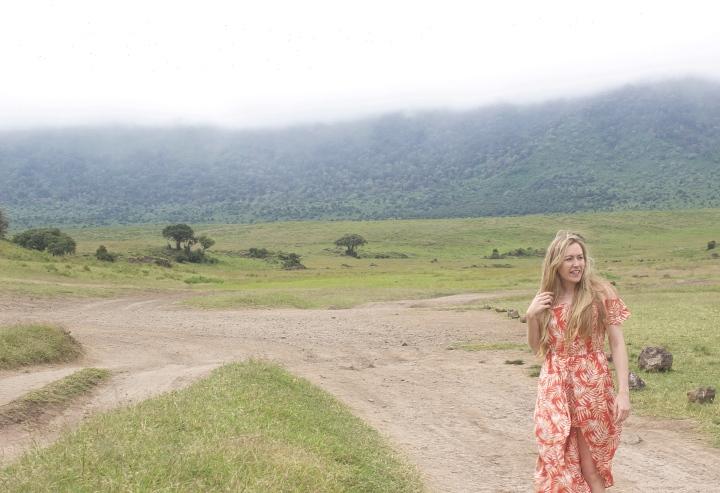 Ngorongoro Crater lake Tanzania